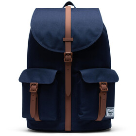 Herschel Dawson Mochila, peacoat/saddle brown